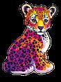 lisa frank leopard random